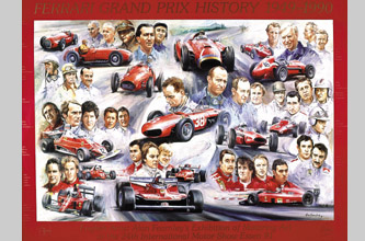 Ferrari Grand Prix History 1949-1990 - Essen 1991